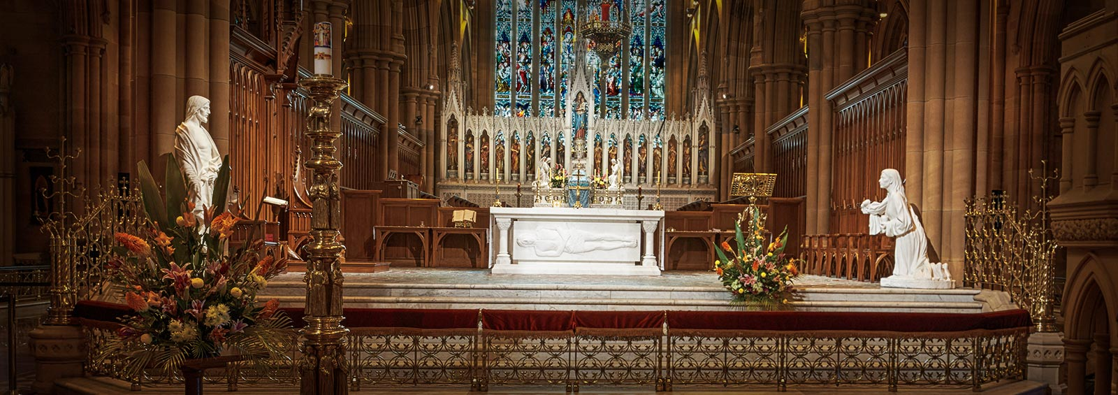 Mass and Confession Times – St Mary's Cathedral Sydney